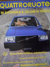 Quattroruote 250 1976 - Test AlfaSud Sprint - test nuova Volvo 1400 cc   [Q33]