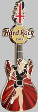 Hard Rock Cafe ONLINE 2012 GIRLS of the GAMES PIN Summer Olympics LONDON HRO HRC