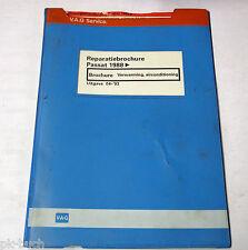 Reparatiebrochure VW Passat B3 / 35i Verwarming airconditioning van 1988