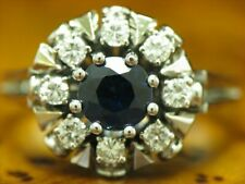 14kt 585 White Gold Ring With 1,22ct Spinel & 0,40ct Brilliant Trim/ 0.2oz/ RG53