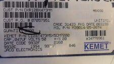 (5 PER LOT) CAPACITOR CERAMIC .047uF 50V 20% MLCC AXIAL