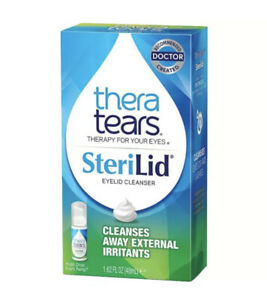 TheraTears Sterilid Eyelid Cleanser, 1.62 fl oz