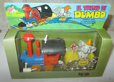 Treno di Dumbo Polistil 1:43 Trenino Casimiro Casey JR Walt Disney Production