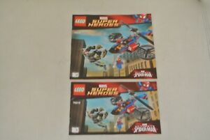 LEGO Super Heroes: Instructions Manual - Set 76016 Rescue Helicopter