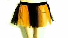 UV NEON STRIPE TUTU SKIRT TULLE HALLOWEEN COSTUME CHRISTMAS NIGHT COLOR AVAILABL