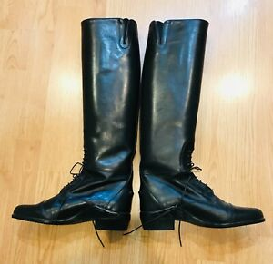 Equestrian Horse Ariat English Riding Boots Women's Size 7