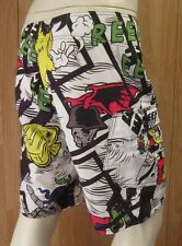 SUMMER TIME FUN REEF BOARD SHORTS RF- 00A096 ALL OVER PRINT SIZE 33 VIC-THOR1