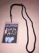 ONE DIRECTION 1D ON THE ROAD AGAIN VIP ALL ACCESS BACKSTAGE PASS & LANYARD HARRY