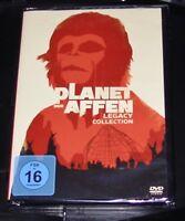PLANET DER AFFEN LEGACY COLLECTION 5 FILME DVD SCHNELLER VERSAND NEU & OVP