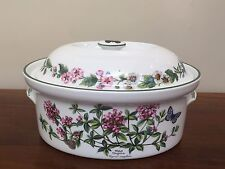 Royal Worcester WORCESTER HERBS 2 Qt Oval Covered Casserole ~ England