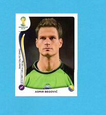 BRASILE 2014-PANINI-Figurina n.433-BEGOVIC-BOSNA/HERCEGOVINA-NEW BLACK BACK
