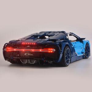 Upgraded Version LED Lighting Kit For LEGOs Technic Bugatti Chiron 42083 Set