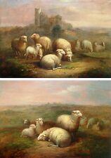 Balthasar Paul Ommeganck 1755-1826 Antwerpen / 2 Gemälde 1816 / Slg. Khalil-Bey