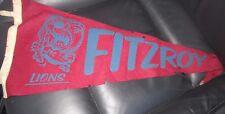 Fitzroy VFL pennant Flag - old - rare - original