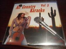 ALL COUNTRY KARAOKE DISC VOL 3 CD+G 16 TRACKS