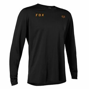 Fox Ranger Essential TruDri Mens Long Sleeve Jersey Black