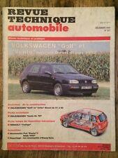 Revue Technique Automobile VOLKSWAGEN Golf et Vento moteurs Diesel depuis 1992