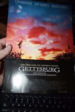 """Oscar Promotional Brochure for the movie """"Gettysburg"""" Turner Productions 1993"""