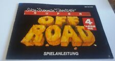 NES Off Road original Anleitung Instruction Booklet