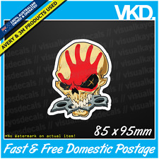 5 Finger Death Punch Sticker/ Decal - Band Music Heavy Metal Hardcore Vinyl Five