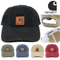 Men's Carhartt Odessa Adjustable Strapback Dad Baseball Cap Curved Hat Authentic
