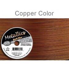 Copper Colour Soft Flex Wire .024 Length 30 ft, 49 Strands, 0.60mm - FT453Copper