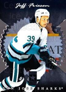 1996-97 Donruss Elite Die Cut Stars #53 Jeff Friesen