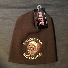 "Vintage Hot Topic Htf ""Look Ma No Hands� Beanie"