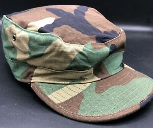Army Woodland Cap USGI US Military BDU Uniform Hat Hot Summer Weather