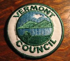 Girl Scouts Jacket Patch - Vintage GSA Troop Vermont Council Uniform Badge Patch