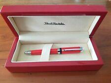Red RENATO BALESTRA Pen in Box - free USA shipping
