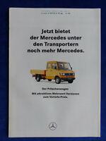 Mercedes-Benz Pritschenwagen - Mehrwert-Versionen - Prospekt Brochure 01.1994