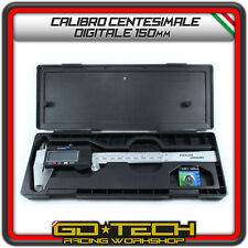 CALIBRO DIGITALE CENTESIMALE 150 mm IN ACCIAIO INOX con DISPLAY LCD ELETTRONICO