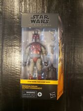 Star wars 6 inch black series Mandalorian Super Commando