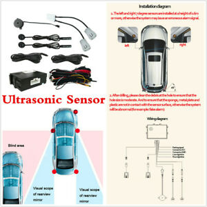 Car Blind Spot Detection Universal Ultrasonic Sensor Safety Monitoring System X1
