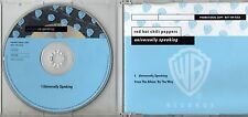RED HOT CHILI PEPPERS CD single PROMO made in Germany 1 TRACK Universally spakin