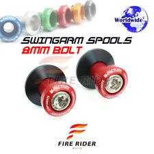6Color CNC Swingarm Spools 8MM 2pcs For Suzuki GSX 1300 R HAYABUSA 99-12 10 11