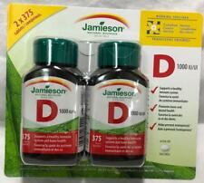 2x Bottles of Jamieson™ Vitamin D3 1000 IU/25 mcg - 750 Tablets Proudly Canadian
