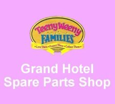 Vintage 1995 Teeny Weeny Families ~ GRAND HOTEL ~ Spare Parts Shop