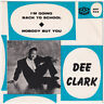 DEE CLARK Nobody But You ULTRA RARE Sweden 45 swedish R&B doo wop northern soul