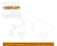 KIA OEM 14-16 Forte Koup Trunk Lid-Emblem Badge Nameplate 86312A7200