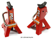 Integy Realistic Model Jack Stands (2) 1/8-1/10 Scale Rock Crawlers C25386RED