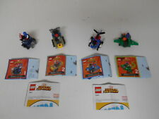 LEGO MIGHTY MICROS 76064 SPIDERMAN/GOBLIN.76065 CAP/RED SKULL  FREE UK POSTAGE