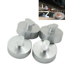 4X Billet Aluminum Jacking Lift Pad Puck For Corvette C7 14-18 Stingray Z51 Z06