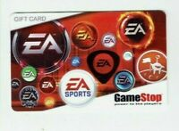 Game Stop Gift Card - EA Sports / EB Games - Older -No Value -I Combine Shipping