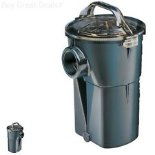 Pump Strainer Housing New Lid Basket ABS Material Pool Spa Outdoor