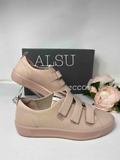 ECCO Fashion Shoes Women's 440513 01118 Soft 8 Strap Sneakers Leather Rose Dust