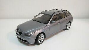 1:18 KYOSHO BMW 5 SERIES 545i WAGON E61 GRAY (FULL OPEN) DIECAST CARS DEALER BOX