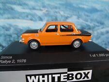 1/43  WhiteBox   SIMCA Rallye 2, 1976  1 0f 1000