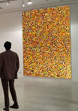 Art oil Painting Original Modern Large Canvas By Jane Crawford golden yellow